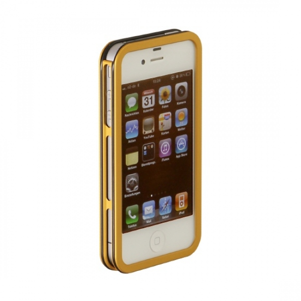 ISIONART AluCase gold für iPhone 4 / 4s