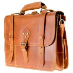 ALPENLEDER Multifunktionstasche BROOKS (cognac)